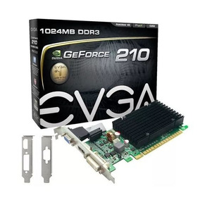 Placa Video Nvidia Evga Gt 210 1gb 01g-p3-1313-kr La Plata