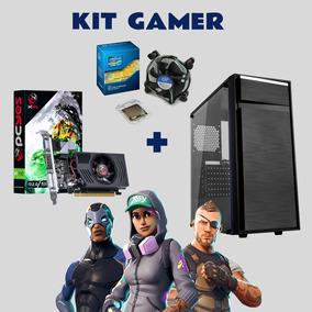 Kit Gamer Com Gt 730 4gb + Core I3 + 8gb De Ram + Hd 500gb