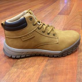 Zapatos Jeep Originales Para Hombres - Jps160023 - Camel