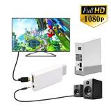Wii2hdmi Adaptador Upscaler Full Hd 1080p - Stock -