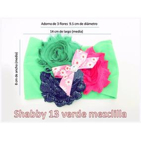 Tiara De Bebé Modelo Shabby Del Color Que Tu Quieras