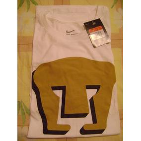 Playera Logo Pumas Unam Nike Blanca Original Nuevo