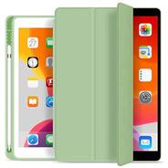 Capa Smartcase Para iPad 10.2 C/ Suporte Pencil Verde Claro