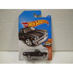 Enigma777 Hot Wheels Camioneta Datsun 620 Negro 317/365 2017
