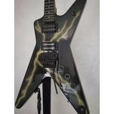 Guitarra Dean Black Bolt, Strap De Seguridad.