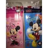 Bolsa Sobre De Papel Cotillón Personajes Disney Pack X10u