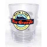 Shot Glass Rio Grande/main Line Montanhas Rochosas U S A