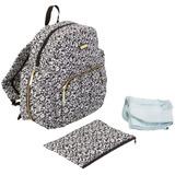Bolso Mochila Maternal Chicago Backpack Black & White