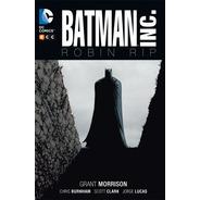 Batman Inc Robin Rip Ecc España Tapa Dura Libro Castellano
