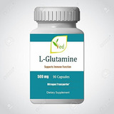 L-glutamine 500mg - Improves Energy Levels & Muscle Mass,