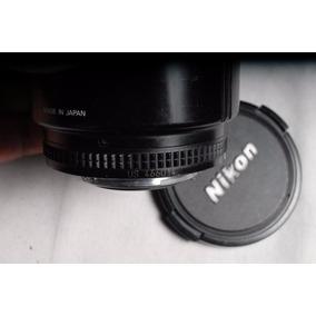 Lente Nikon 85mm 1.8 Serie D Formato Fx Y Dx Auto Focus