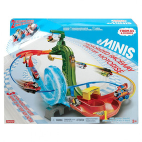 Circuito Tren Thomas Mini Con Dos Trenes!!!