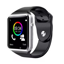 A1 Relógio Smartwatch Phone Inteligente Bluetooth Android