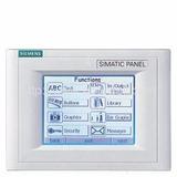 Siemens 6av6545-0ba15-2ax0 Simatic Tp170a 6-in Mpidp/ppi
