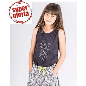 Conjunto De Blusa Y Short Falda De La Marca Española Bóboli