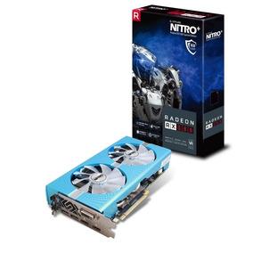 Amd Sapphire Rx 580 Nitro+ Se De 8gb Gddr5 ¡nueva Y Sellada!