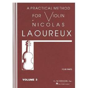 Metodo Violino Nicolas Laoureux Vol 01 02 03/ Arquivo Em Pdf