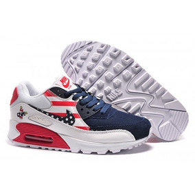 Tenis Nike Air Max 90 Masculino Independency Day Eua