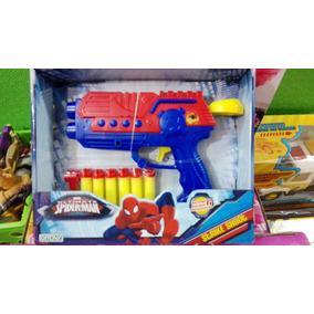 Pistola Hombre Araña Duendes Y Princesas