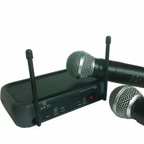 Microfone Sem/fio Barato Wireless Profissional Padrão Shure