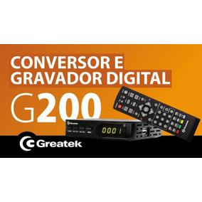 Conversor Digital E Gravador - Greatek G200
