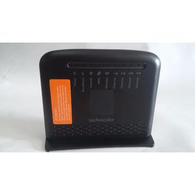 Modem E Roteador Technicolor Td5137 Lançamento, Lacrado,wps