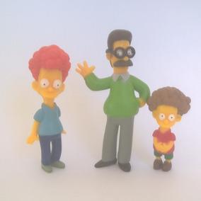 The Simpsons Bonecos Miniaturas Flanders