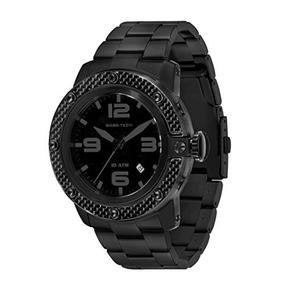 Glam Rock Hombre Gr Sobe Negro Dial Negro Ion-plated Reloj