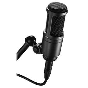 Microfono Condensador Audio Technica At2020 Garantia Oficial