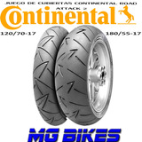 Cubiertas Continental Road Attack 2 180/55-17 120/70-17 Mg