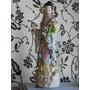 Antigua Geisha En Porcelana Sellada Japon 38 Cmm Envíos