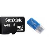 Memoria Microsd 4gb Con Adaptador Usb