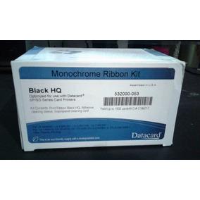Cinta Ribbon Datacard Original Black Hq 532000-053 Sp/sd