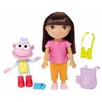 Boneca Dora Aventureira Exploradora Fisher Price