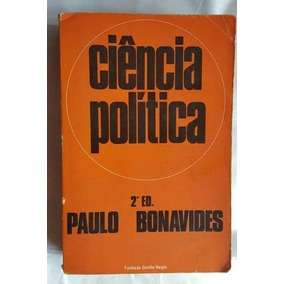 Livro Ciência Política Paulo Bonavide