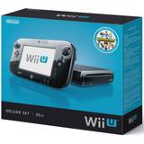 Nintendo Wii U Nueva!+532gb Disco Duro+10 Juegos A Escoger!