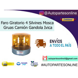 Faro Giratorio 4 Silvines Mosca Gruas Camión Gandola Ivica