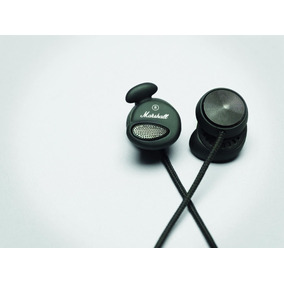 Fone De Ouvido In-ear Marshall Minor Pitch Black