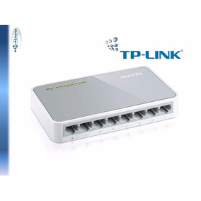 Switch 8 Puertos 10/100 Red Rj45 Tp-link Tl-sf1008d Nuevo