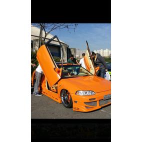 Kit Lambo Doors Honda Civic 94 A 2000 Bolt-on ,com Furações.