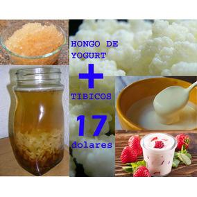 Hongo De Yogurt Y Tibicos Kefir De Leche Y Agua Promocion
