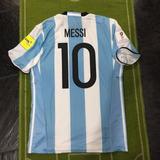 Camiseta Afa Vs Peru Eliminatorias 2018 #10 Messi