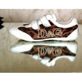 Zapatillas Dolce & Gabbana Animal Importadas Poco Uso