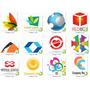 Pack 1000 Logotipos Inéditos Y 100% Editable Para Corel Draw