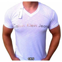 Camisetas Gola V - Calvin Klein Original - Promoção!!!