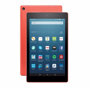 Novo Tablet Fire Hd 8, 8 Wi-fi 16gb 6ª Ger. Tangerine Alexa