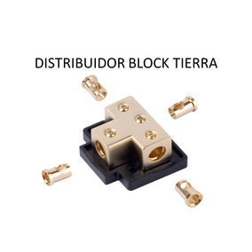 Distribuidor Block Cal.4 Tierra-corriente Xscorpion Tb4444g