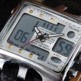 Relógio Masculino Tamanho Grande Anadigi Frete Grátis