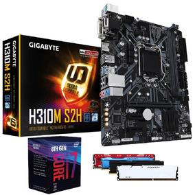 Kit Upgrade I7 8700 8 Ger. + H310 + Ddr4 16gd