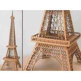 Vector Corte Láser Torre Eiffel